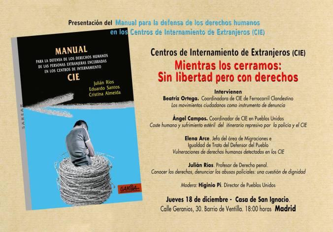 Presentación libro en barrio Ventilla