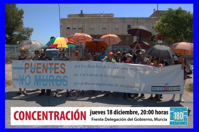 Concentración CIE Murcia