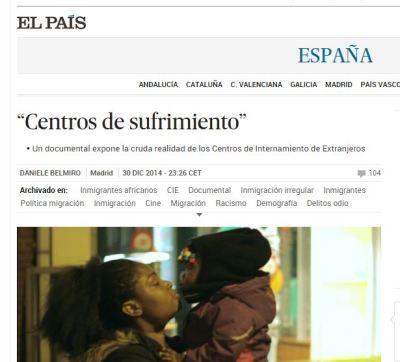 Noticia El País CIE