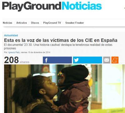 PlayGround Noticias CIE 2330